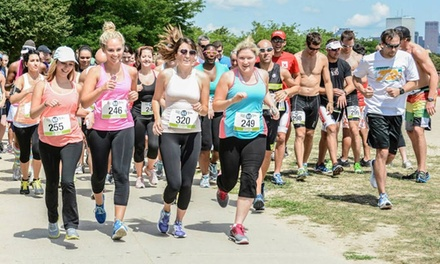groupon daily deal - One or Two Entries to Boston LUV RUN on Friday, May 16 (Up to 41% Off)