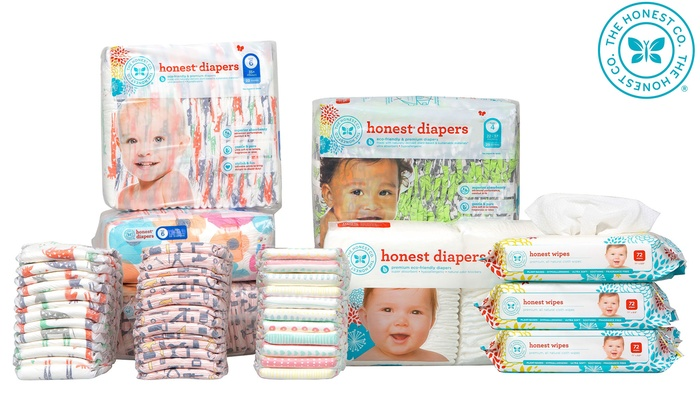 The Honest Co.: The Honest Company- Diapers & Wipes, Personal Care & Cleaning Products, Organic Baby Formula, & Vitamins (Up to 40% Off)