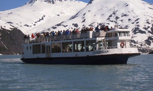 Alaska's Finest Tours & Cruises: Glacier and Wildlife Explorer Tour for Two, Three, or Four from Alaska's Finest Tours & Cruises (Up to 66% Off)