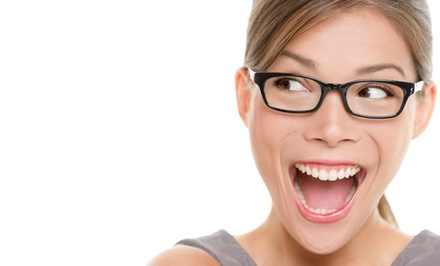 Eye-Care Package with $150 Toward Prescription Glasses at Canada West Optical   (Up to 92% Off)