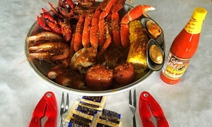 SOHO Crab Shack: Crawfish and Louisiana Seafood at SoHo Crab Shack (40% Off). Two Options Available.