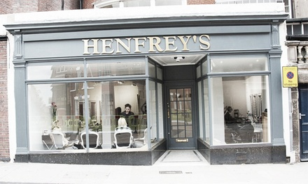 Wash, Cut, L'Oréal Conditioning Treatment and Finish at Henfrey's