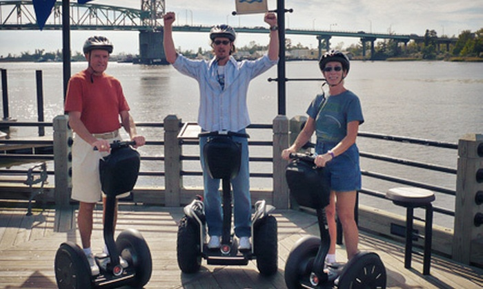 Glide Dynamics & Cape Fear Segway Tours - Wilmington: $17 for a 60-Minute Waterfront Segway Tour from Glide Dynamics & Cape Fear Segway Tours ($35 Value)