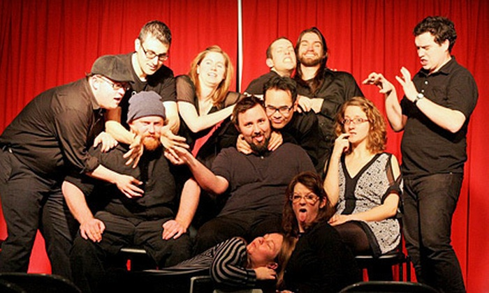 The N Crowd - Philadelphia: $12 for The N Crowd Improv-Comedy Show for Two at The Actors Center ($24 Value)