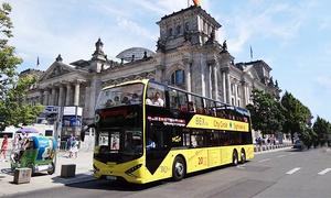BEX Sightseeing Berlin: Tagesticket für die Purple- oder Yellow-City-Tour, opt. als Kombiticket, mit Bex Sightseeing Berlin