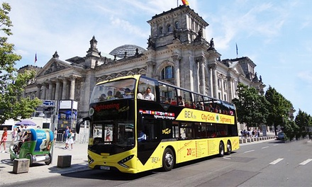 Tagesticket für die Purple- oder Yellow-City-Tour, optional als Kombiticket, mit BEX Sightseeing Berlin ab 15 €