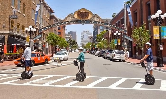 Segway Tours by Wheel Fun Rentals - Wyndham San Diego Bayside Hotel: Segway Tour of Downtown San Diego from San Diego Segway Tours (Up to 51% Off) Two Options Available.