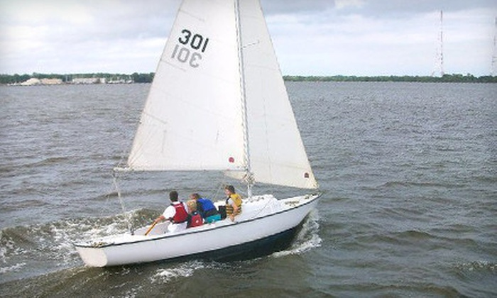 Annapolis Sailing School - Annapolis: Two-Hour Sailing Lesson for One or Two from Annapolis Sailing School (Up to 58% Off)