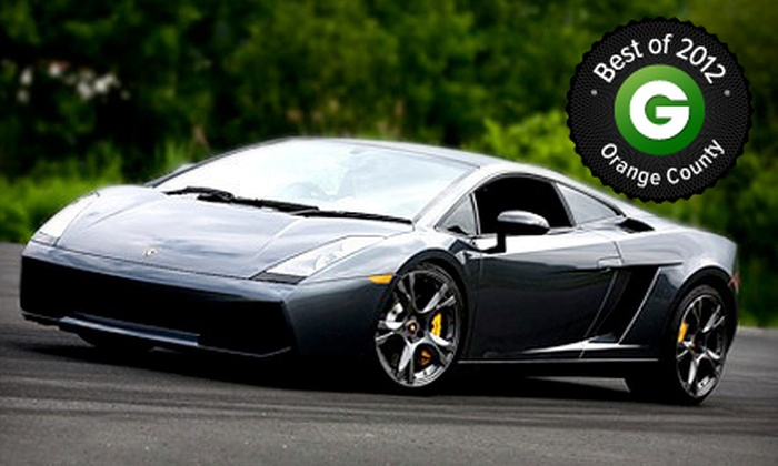 Gotham Dream Cars - Echo Park: $99 for a High-Speed Drive in a Ferrari or Lamborghini from Gotham Dream Cars ($249 Value). Six Weekends Available.