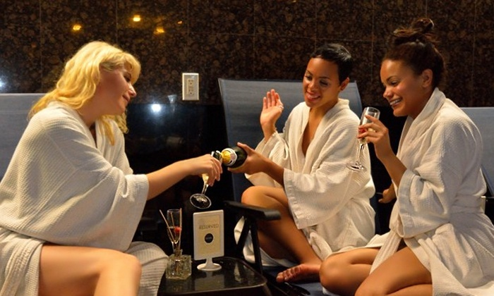 Body by Brooklyn - Clinton Hill: All-Day Wet Lounge Access or VIP Suite Package with Snacks and Champagne at Body by Brooklyn