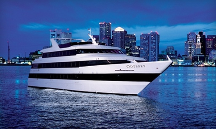 Odyssey Cruises - Rowe's Wharf: Three-Hour Dinner Cruise Monday–Friday, Saturday, or Sunday from Odyssey Cruises (40% Off)