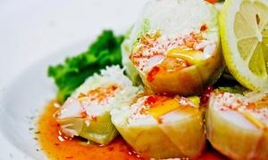 Fin Sushi & Sake Bar: $22 for $40 Worth of Sushi and Japanese Cuisine at Fin Sushi & Sake Bar