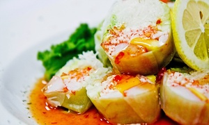 Fin Sushi & Sake Bar: $30 for $50 Worth of Sushi and Japanese Cuisine at Fin Sushi & Sake Bar