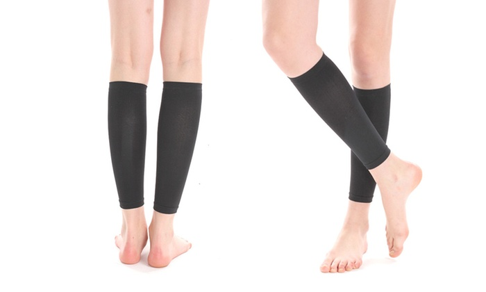 10-Pressure-Point Compression Leg Sleeves: 10-Pressure-Point Compression Leg Sleeves