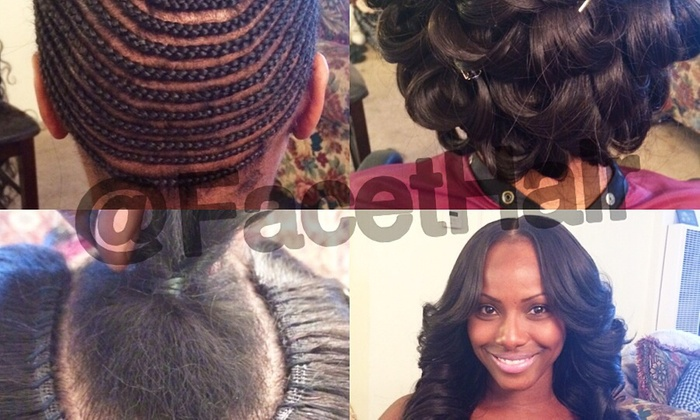 Maryam at Facet Hair - Central San Pedro: Full Sew-In Weave from Facet Hair (62% Off)