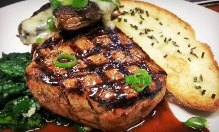 Farm-to-Table Dinner for Two or Four at Christopher Martin's Restaurant and Pub (Up to 52% Off). Four Options Available.