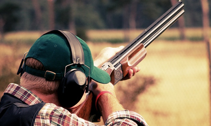 Drake Landing - Drake Landing: $25 for One Round of 50 Sporting Clays, a Cart Rental, and a Shotgun Rental at Drake Landing ($55 Value)