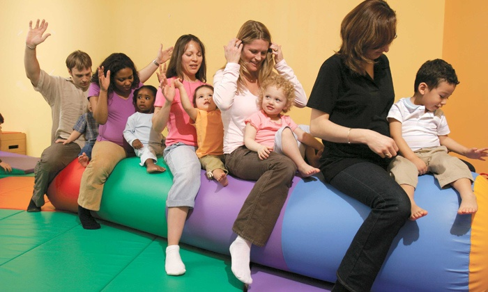 Gymboree Play and Music - Multiple Locations: 5 Classes or 10 Open-Gym Visits at Gymboree Play and Music (51% Off)