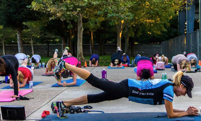 Mama Bootcamp - Woodward Park: $49 for 6-Week Bootcamp Program with Nutritional Plan and Personal Coach at Mama Bootcamp ($199 Value)