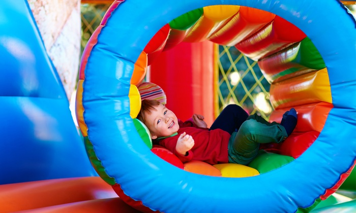 Pump It Up Glenview - Glenview: Five Kids' Bounce-House Visits or a Classic Party for Up to 25 at Pump It Up Glenview (Up to 51% Off)