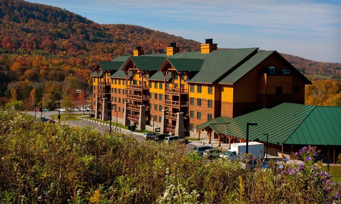 Hope Lake Lodge and Indoor Waterpark - Virgil: Two-Night Stay for Up to Four or Six with Water-Park Passes at Hope Lake Lodge and Indoor Waterpark in Cortland, NY