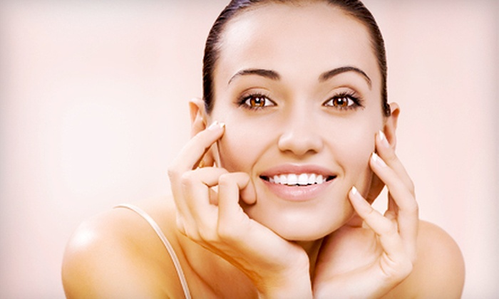 JK Skincare & Spa - West Omaha: Shellac Manicure or Diamond-Peel Microdermabrasion at JK Skincare & Spa (Up to 51% Off)