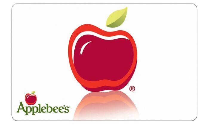 Applebees: $5 eGift Card to Applebees + 20% back in Groupon Bucks