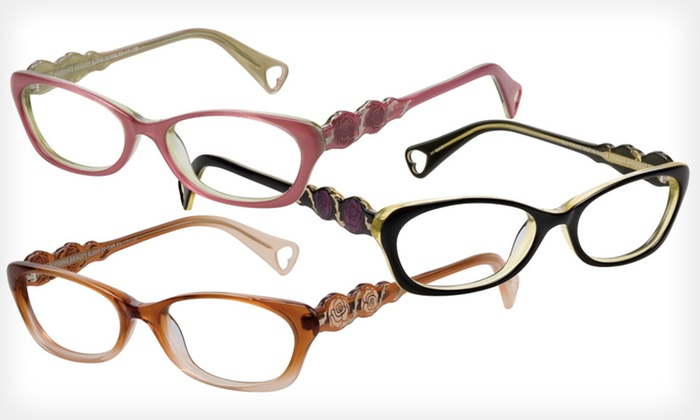 Budding Beauty Frames: $39 for Budding Beauty Optical Frames by Betsey Johnson ($195 List Price). Three Colors Available.
