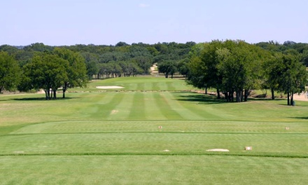 $99 for Round of Golf, Cart, Range Balls, and Overnight Stay for Two at The Hideout Golf Club ($264 Value)
