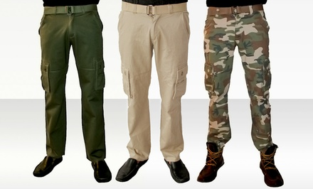 Red Snap Men's Starship Cargo Pants. Multiple Styles Available. Free Returns.