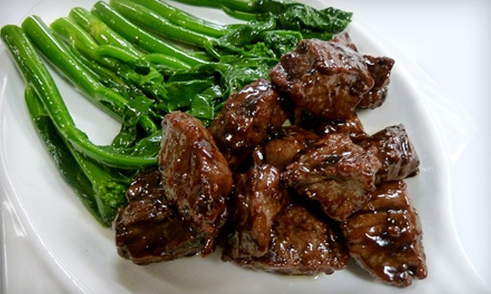 O'Asian Kitchen and Lounge - Central Business District: Dinner for Two, Four, or Six or $17 for $35 Worth of Chinese Cuisine for Dinner at O'Asian Kitchen and Lounge