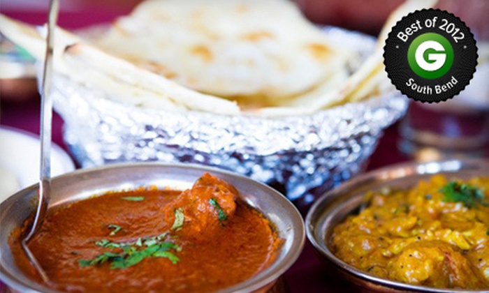 The India Garden - Mishawaka: $10 for $20 Worth of Indian Food at The India Garden