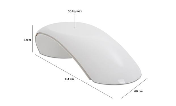 table basse design loop avec led groupon shopping. Black Bedroom Furniture Sets. Home Design Ideas