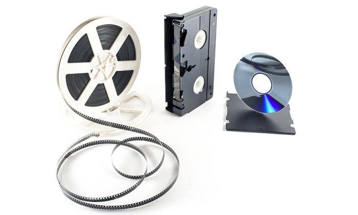 Sunrise Studios: Transfer of Six Videocassettes to DVD or Transfers of Movie Film to DVD at Sunrise Studios