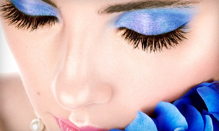 B. Make-up and Brow Boutique - West Quincy: Eyelash Extensions, Two Brow Shapings, or EmerginC Facial at B. boutique in Milton (Up to 65% Off)
