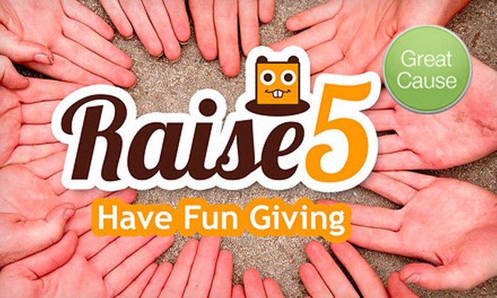 Raise5 - Austin: $6 for $10 Toward Services that Support Nonprofits