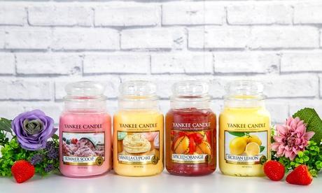 Set de 4 velas aromáticas Yankee Candle