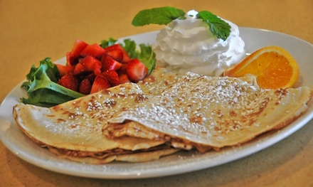 $15 for $25 Worth of Coffee and Crepes at Whispers Cafe & Creperie - East Brokaw