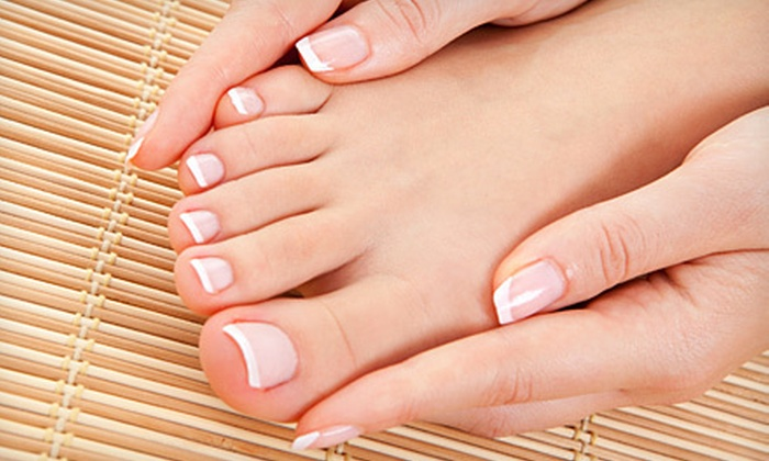 Polish Me - Ladue: $29 for a 90-Minute Spa Mani-Pedi Package at Polish Me (Up to $61 Value)