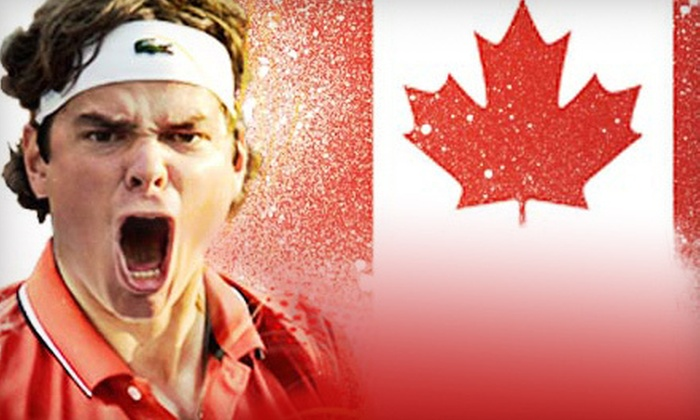 Category 1 or 2 Seating to See Team Canada at the Davis Cup on February 1, 2, or 3 (Half Off)