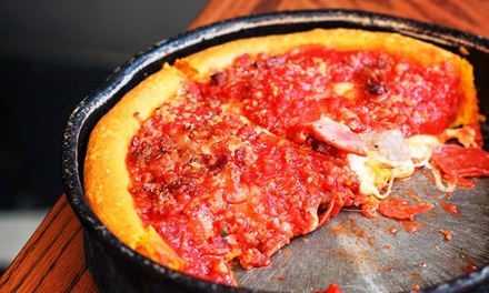 Chicago-Style Pizza for Two or Four or Takeout at Gino's East (Up to 49% Off)