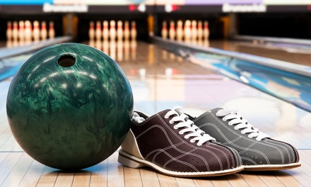 $31 for 90 Minutes of Bowling for Five with Shoes at Sunset Lanes (Up to $58 Value)
