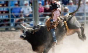 Liberty Pro Rodeo: Liberty Pro Rodeo Show for Two or Four at LuLu Shriners Arena on September 17–20 (Up to 59% Off)
