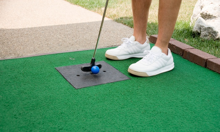 Glow Putt Mini Golf - Central Scottsdale: Four Rounds of Mini Golf at Glow Putt Mini Golf (50% Off)