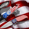 4 or 4.5-Inch Fourth of July Patriotic-Themed Knife