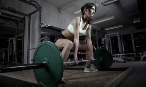 Caution Crossfit: One Month of Unlimited CrossFit Classes at Caution Crossfit ($125 Value)