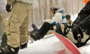Beavers Sports Shop: One- or Two-Day Shape Ski or Snowboard Rental Package from Beavers Sports Shop (Up to 44% Off)