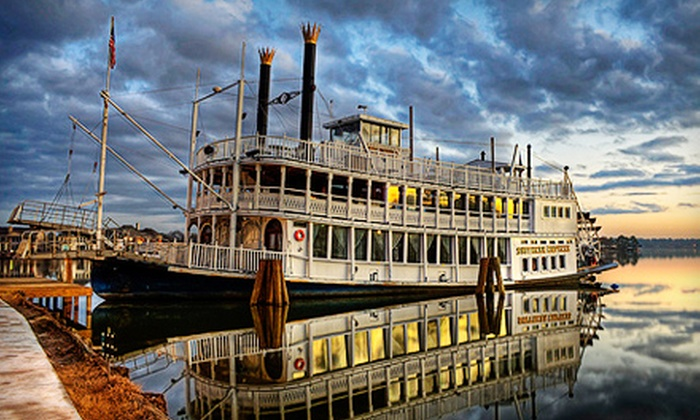 Southern Empress Cruises - Sunset Harbor Resort: Three-Hour Dinner or Drinks Cruise on a Riverboat for Two or Four from Southern Empress Cruises (Up to 51% Off)