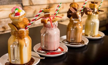 image for Freak Shake for Two at Time Cafebar, Choice of Two Locations (37% Off)