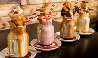 Freak Shake for Two at Time Cafebar, Choice of Two Locations (37% Off)